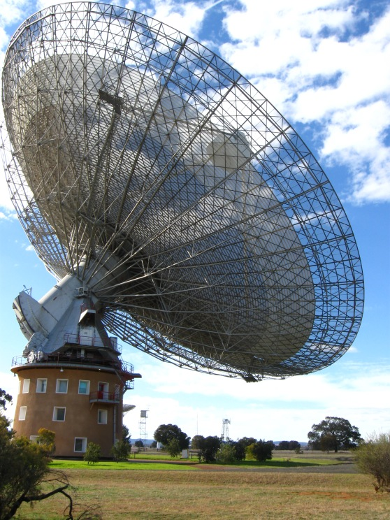 CSIRO Radio Telescope at Parkes, Australia